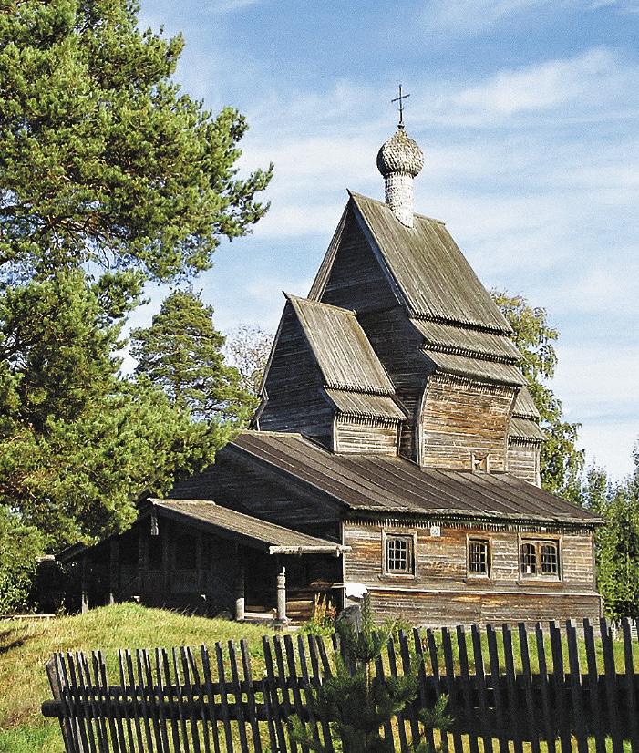 Самая старая деревянная церковь в России – церковь Георгия Победоносца открыта для туристов.