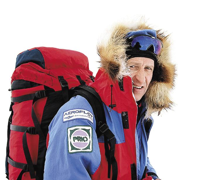 Михаилу Малахову за экспедицию к Северному полюсу было присвоено звание Героя России.