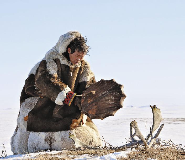 Местный шаман Коля против осквернения святилищ.