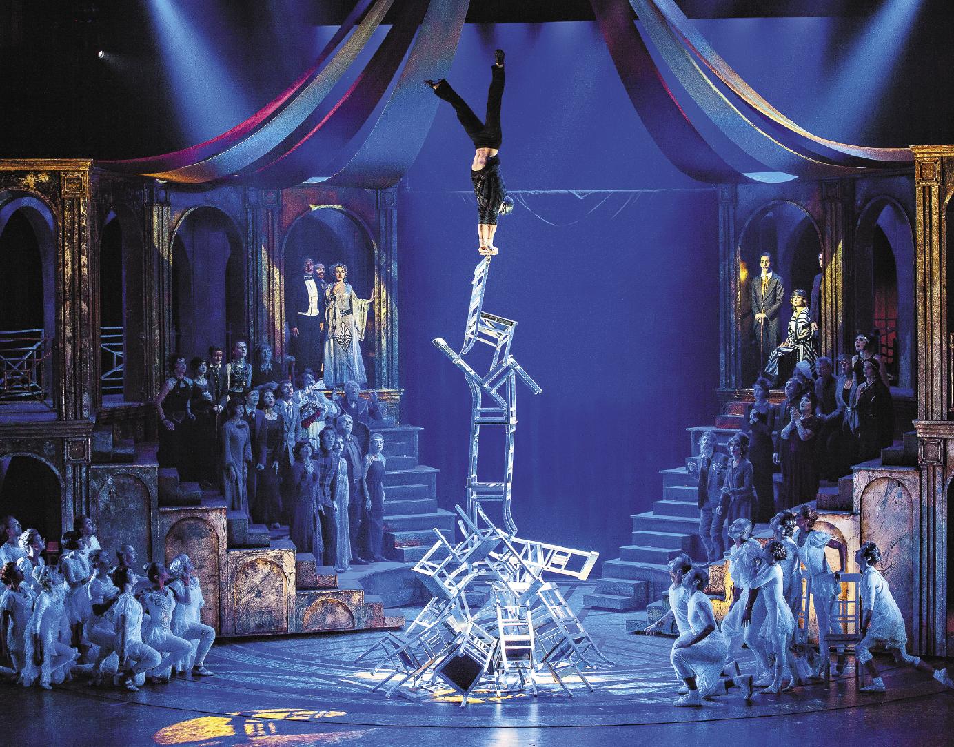 Все трюки в спектакле «Принцесса цирка» выполняются без страховки!