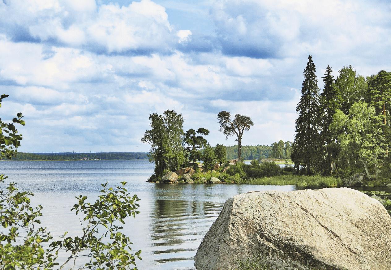 Вдохновляющие пейзажи Выборга – европейского островка в России.