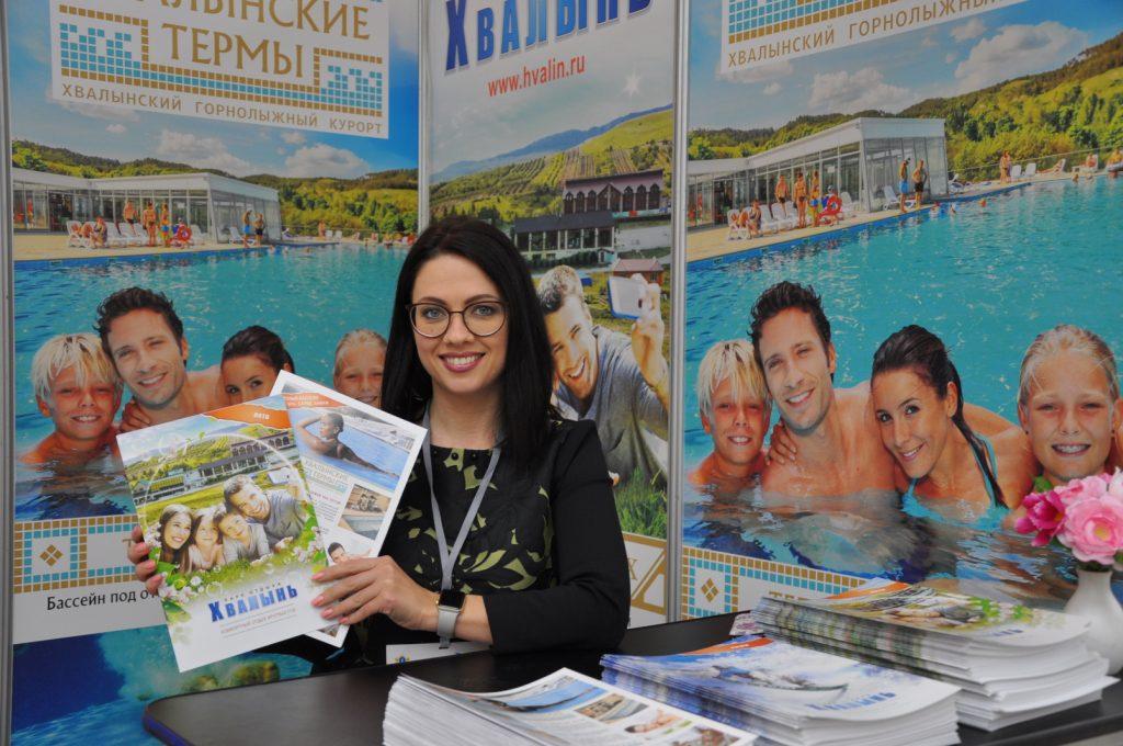 Курорт Хвалынский из Саратовской области-постоянный участник туристической выставки в Ульяновске