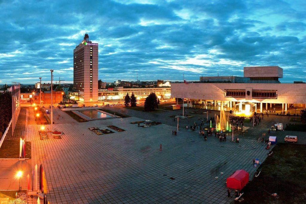 Музей-мемориал В.И. Ленина-главная достопримечательность города