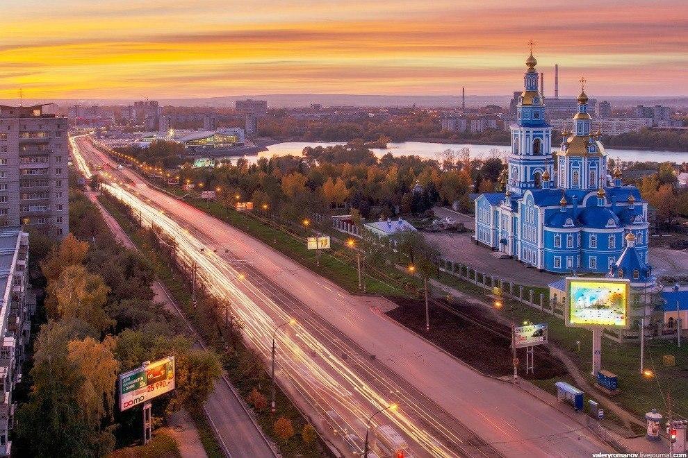 Спасо-Вознесенский кафедральный собор-один из самых красивых в Ульяновске