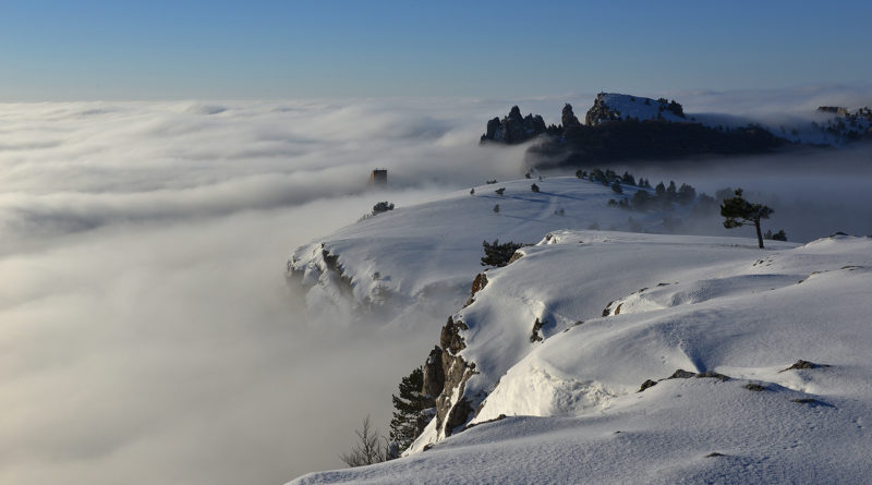 Зима на Ай-Петри. Выше облаков.
