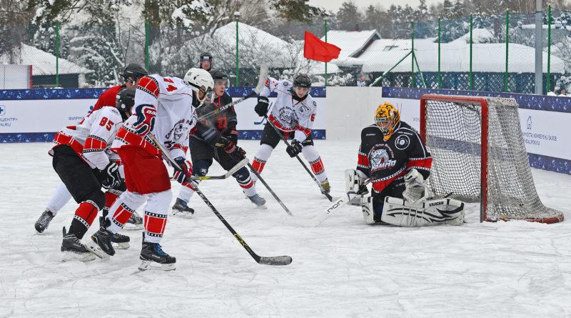 Дипломаты играют в хоккей